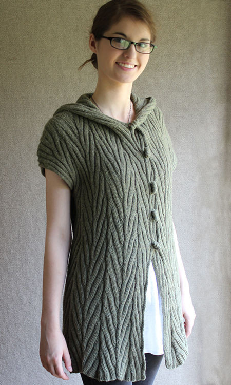 Cable Tunic Sweater