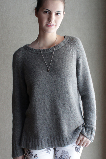 Sunday Knits, Sunday Morning, cashmere, pullover, knitting pattern, raglan, cable decreases